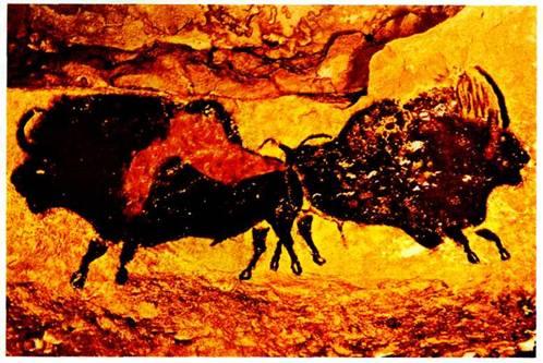 наскальная живопись в пещере ласко:
