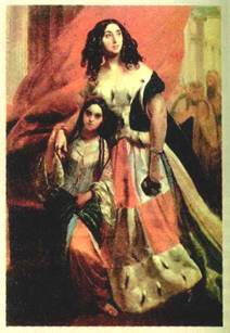старец Паисий брюллов портрет самойловой с арапчонком денег